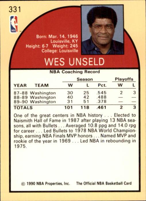 thumbnail 175 - 1990-91 Hoops Basketball Card Pick 244-440