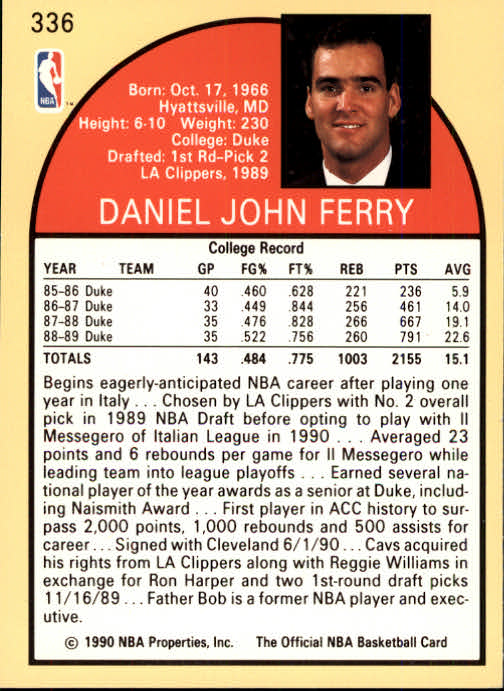 thumbnail 185 - 1990-91 Hoops Basketball Card Pick 244-440