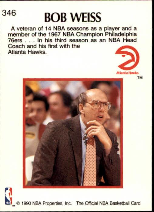 thumbnail 201 - 1990-91 Hoops Basketball Card Pick 244-440