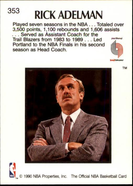 thumbnail 211 - 1990-91 Hoops Basketball Card Pick 244-440