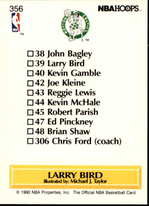 thumbnail 217 - 1990-91 Hoops Basketball Card Pick 244-440