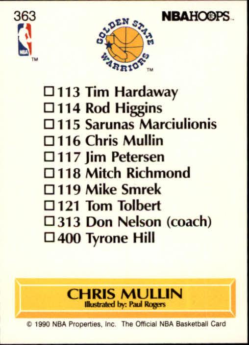 thumbnail 231 - 1990-91 Hoops Basketball Card Pick 244-440