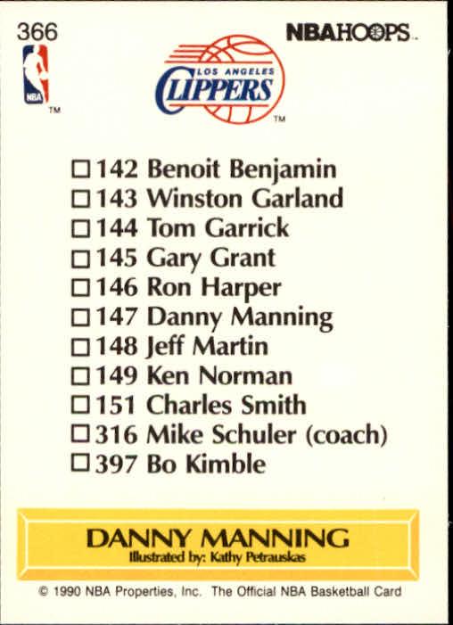 thumbnail 235 - 1990-91 Hoops Basketball Card Pick 244-440