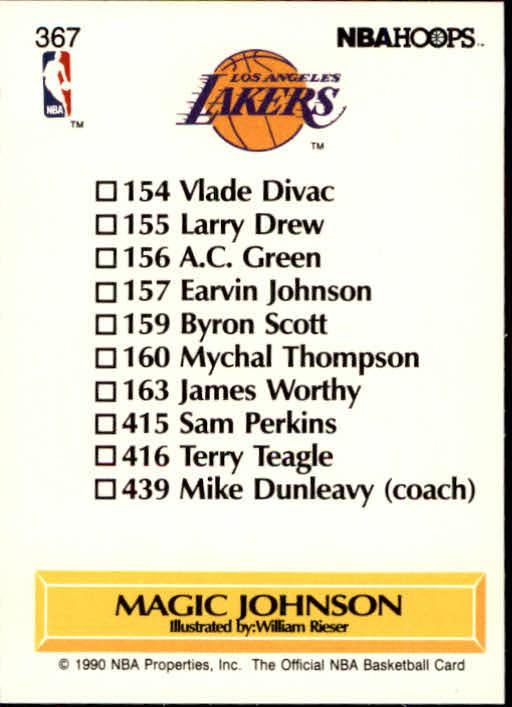 thumbnail 237 - 1990-91 Hoops Basketball Card Pick 244-440