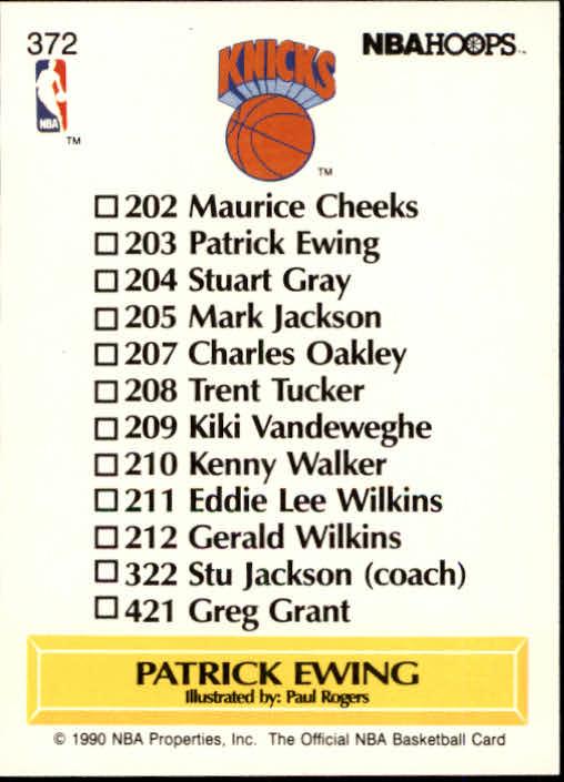thumbnail 247 - 1990-91 Hoops Basketball Card Pick 244-440