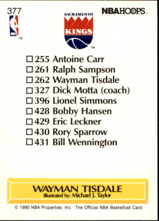 thumbnail 255 - 1990-91 Hoops Basketball Card Pick 244-440