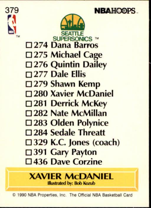 thumbnail 257 - 1990-91 Hoops Basketball Card Pick 244-440