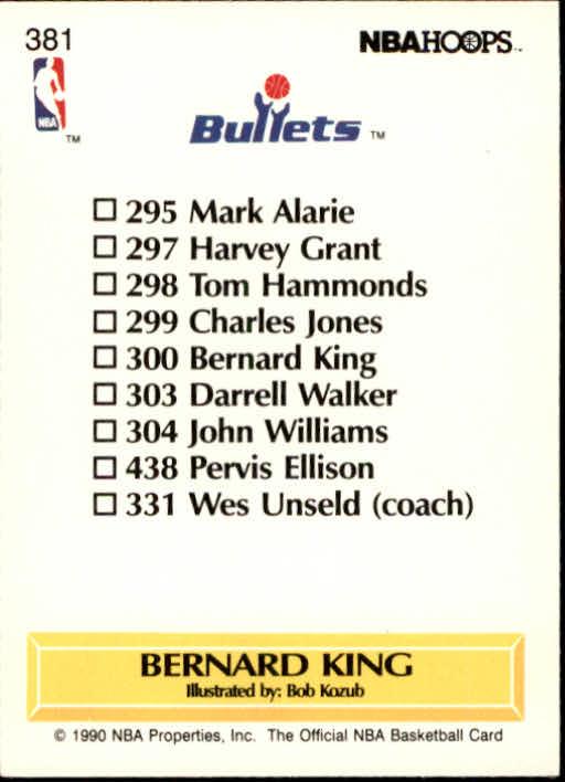 thumbnail 261 - 1990-91 Hoops Basketball Card Pick 244-440