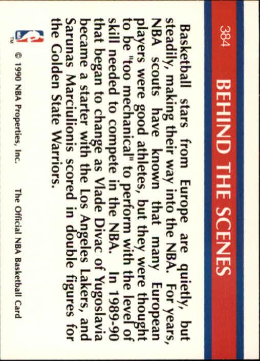 thumbnail 267 - 1990-91 Hoops Basketball Card Pick 244-440