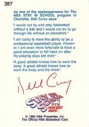 thumbnail 273 - 1990-91 Hoops Basketball Card Pick 244-440