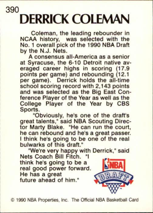 thumbnail 279 - 1990-91 Hoops Basketball Card Pick 244-440
