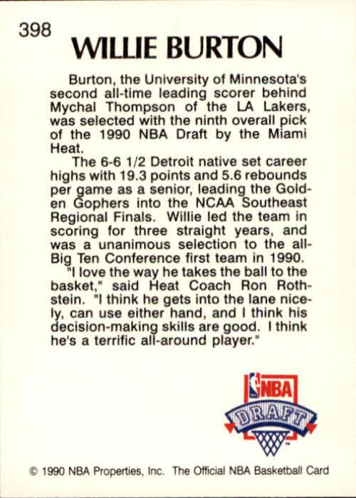 thumbnail 291 - 1990-91 Hoops Basketball Card Pick 244-440