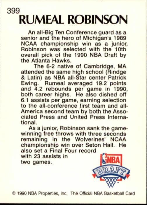 thumbnail 293 - 1990-91 Hoops Basketball Card Pick 244-440