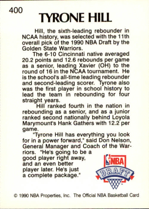 thumbnail 295 - 1990-91 Hoops Basketball Card Pick 244-440