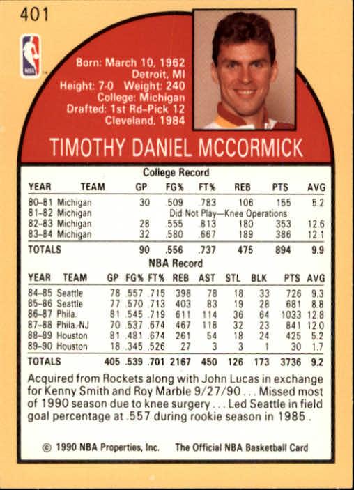 thumbnail 297 - 1990-91 Hoops Basketball Card Pick 244-440