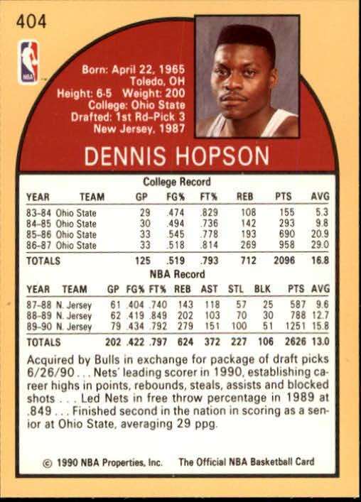 thumbnail 303 - 1990-91 Hoops Basketball Card Pick 244-440