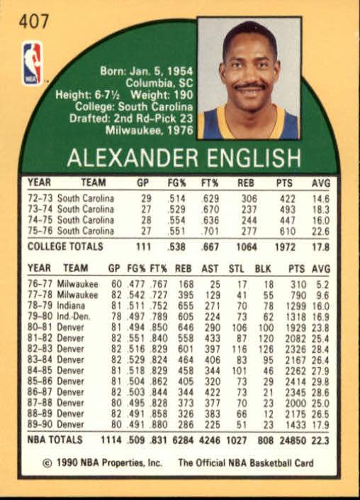 thumbnail 309 - 1990-91 Hoops Basketball Card Pick 244-440