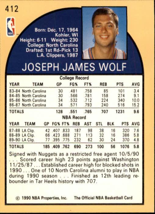 thumbnail 317 - 1990-91 Hoops Basketball Card Pick 244-440