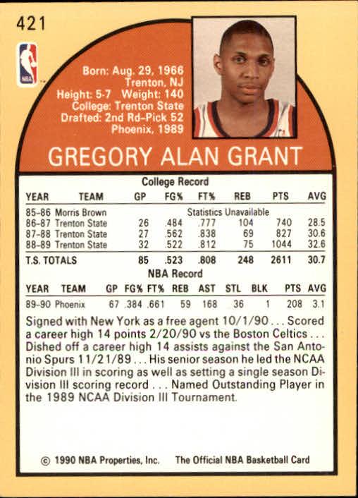 thumbnail 335 - 1990-91 Hoops Basketball Card Pick 244-440