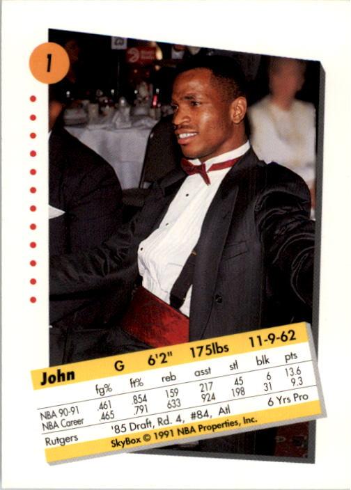 thumbnail 3 - 1991-92 SkyBox Basketball Card Pick 1-250