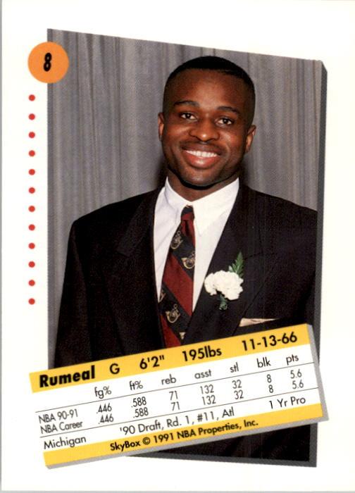 thumbnail 17 - 1991-92 SkyBox Basketball Card Pick 1-250