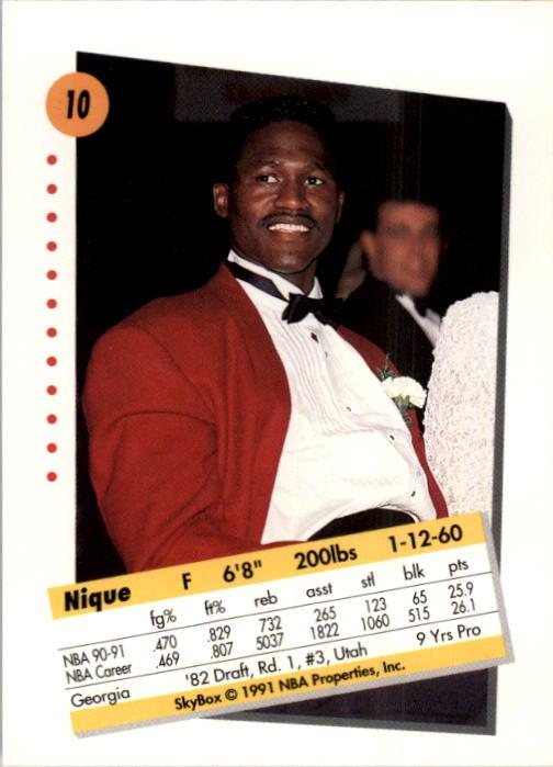 thumbnail 21 - 1991-92 SkyBox Basketball Card Pick 1-250