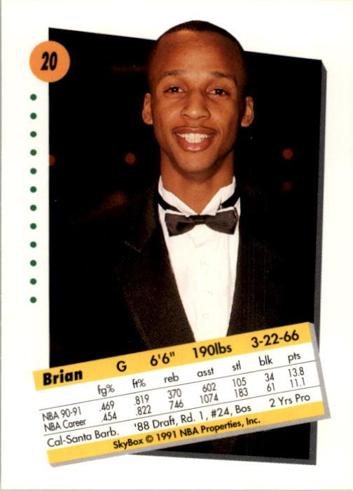 thumbnail 41 - 1991-92 SkyBox Basketball Card Pick 1-250