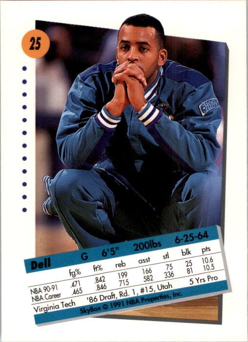 thumbnail 51 - 1991-92 SkyBox Basketball Card Pick 1-250