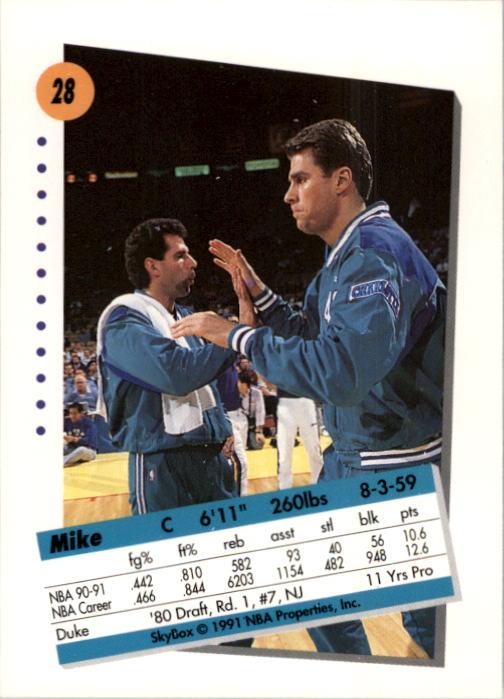 thumbnail 57 - 1991-92 SkyBox Basketball Card Pick 1-250