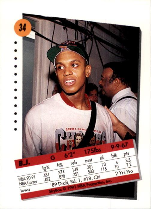 thumbnail 69 - 1991-92 SkyBox Basketball Card Pick 1-250