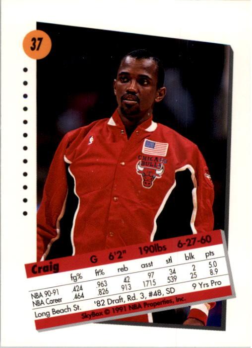 thumbnail 75 - 1991-92 SkyBox Basketball Card Pick 1-250