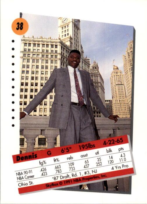thumbnail 77 - 1991-92 SkyBox Basketball Card Pick 1-250