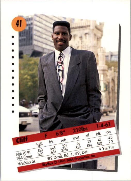 thumbnail 83 - 1991-92 SkyBox Basketball Card Pick 1-250