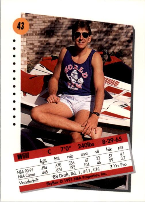 thumbnail 87 - 1991-92 SkyBox Basketball Card Pick 1-250