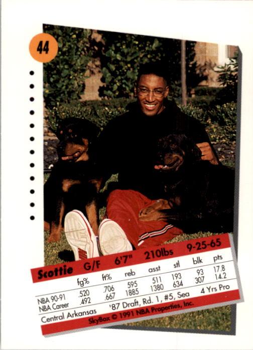 thumbnail 89 - 1991-92 SkyBox Basketball Card Pick 1-250