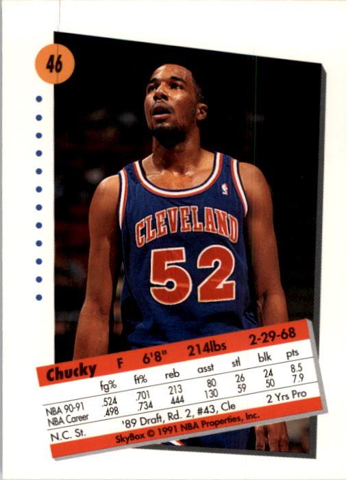 thumbnail 93 - 1991-92 SkyBox Basketball Card Pick 1-250