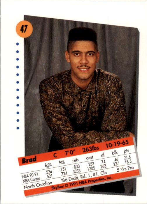thumbnail 95 - 1991-92 SkyBox Basketball Card Pick 1-250