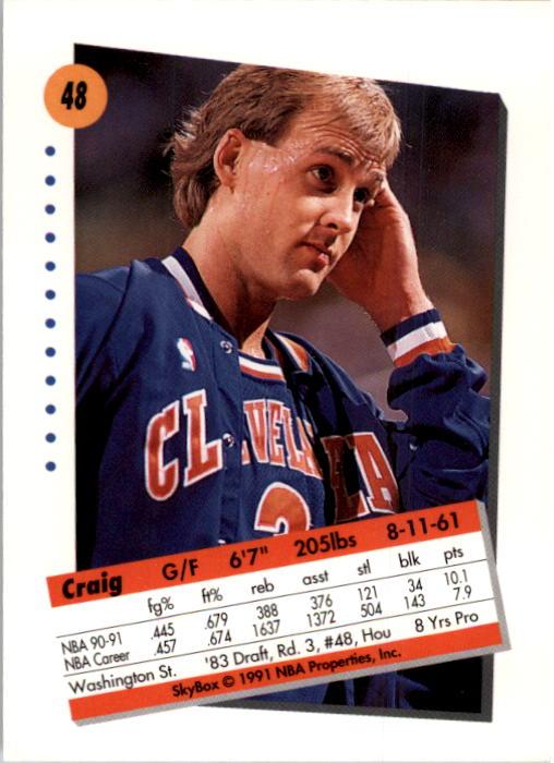 thumbnail 97 - 1991-92 SkyBox Basketball Card Pick 1-250