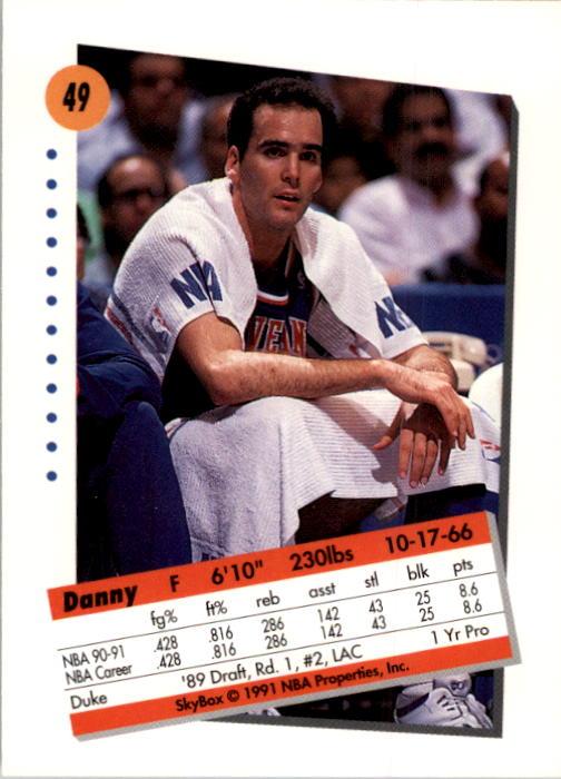 thumbnail 99 - 1991-92 SkyBox Basketball Card Pick 1-250