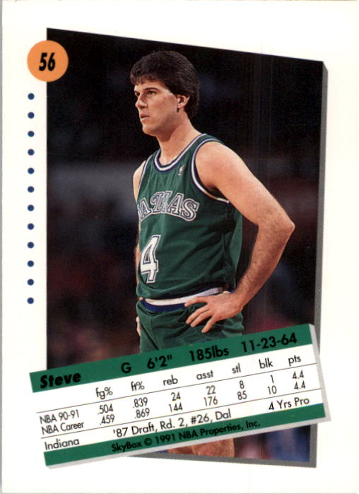 thumbnail 113 - 1991-92 SkyBox Basketball Card Pick 1-250