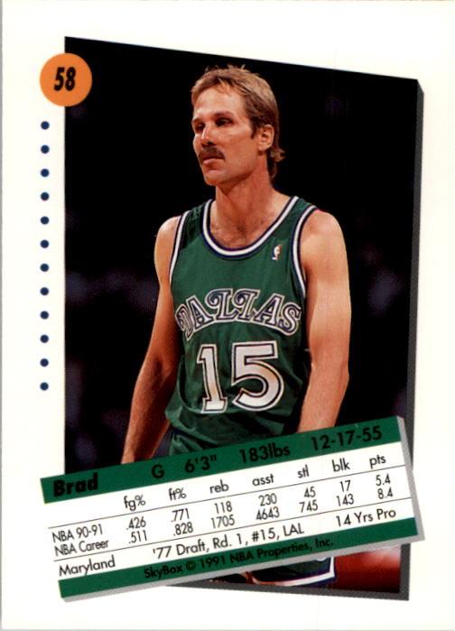 thumbnail 117 - 1991-92 SkyBox Basketball Card Pick 1-250