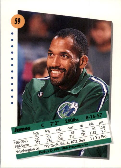 thumbnail 119 - 1991-92 SkyBox Basketball Card Pick 1-250