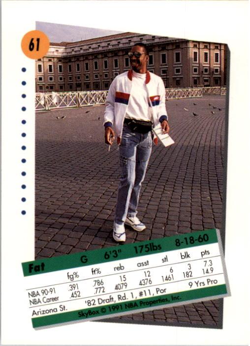 thumbnail 123 - 1991-92 SkyBox Basketball Card Pick 1-250