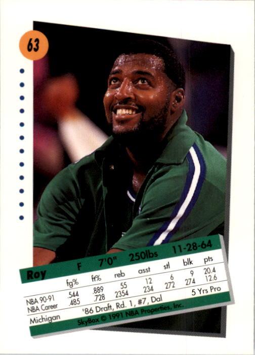 thumbnail 127 - 1991-92 SkyBox Basketball Card Pick 1-250