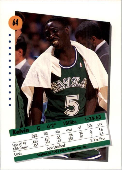 thumbnail 129 - 1991-92 SkyBox Basketball Card Pick 1-250