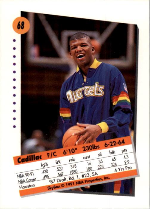 thumbnail 137 - 1991-92 SkyBox Basketball Card Pick 1-250