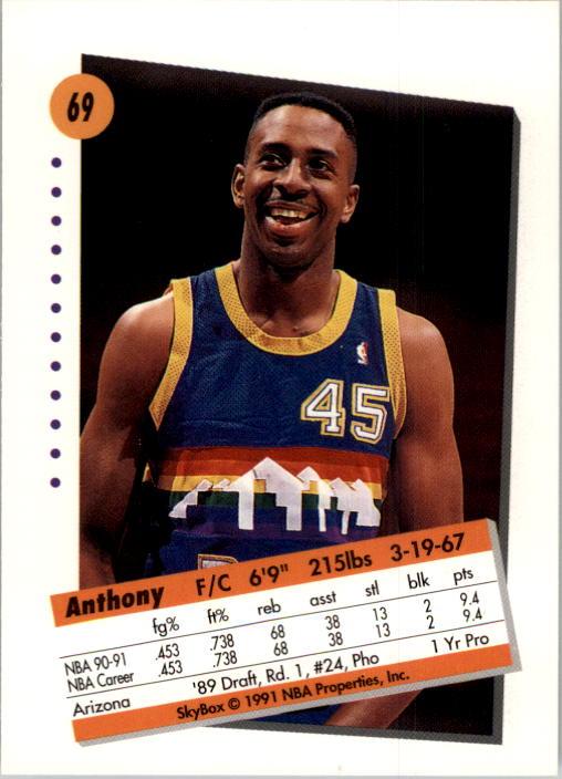 thumbnail 139 - 1991-92 SkyBox Basketball Card Pick 1-250