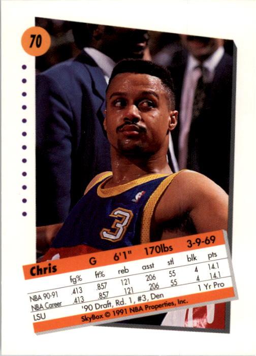 thumbnail 141 - 1991-92 SkyBox Basketball Card Pick 1-250