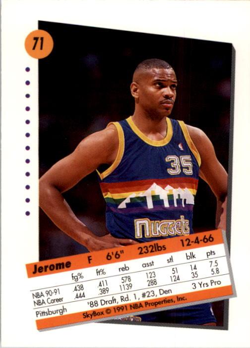 thumbnail 143 - 1991-92 SkyBox Basketball Card Pick 1-250