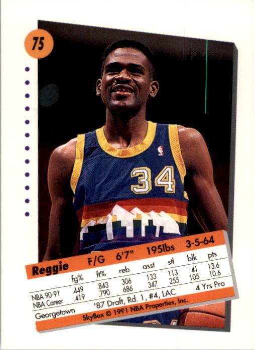 thumbnail 151 - 1991-92 SkyBox Basketball Card Pick 1-250